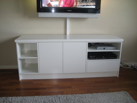 Small TV unit